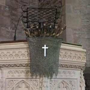 Pulpit sculpture